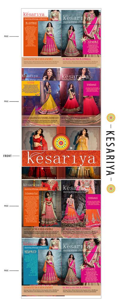 kesariya indian lehnga catalogue pageS 5
